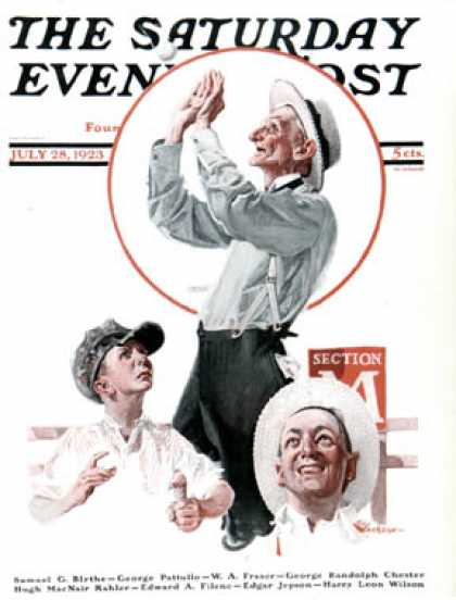 Saturday Evening Post - 1923-07-28