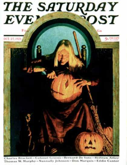 Saturday Evening Post - 1928-10-27