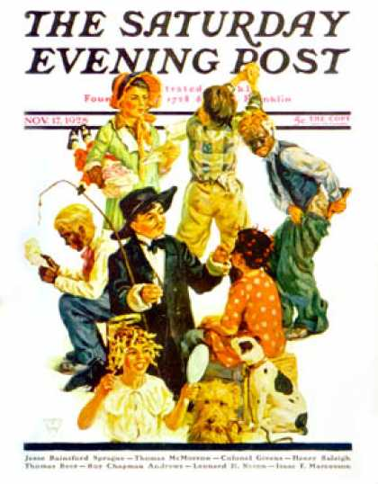 Saturday Evening Post - 1928-11-17