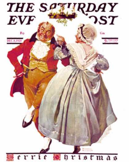 Saturday Evening Post - 1928-12-08 (Norman Rockwell)