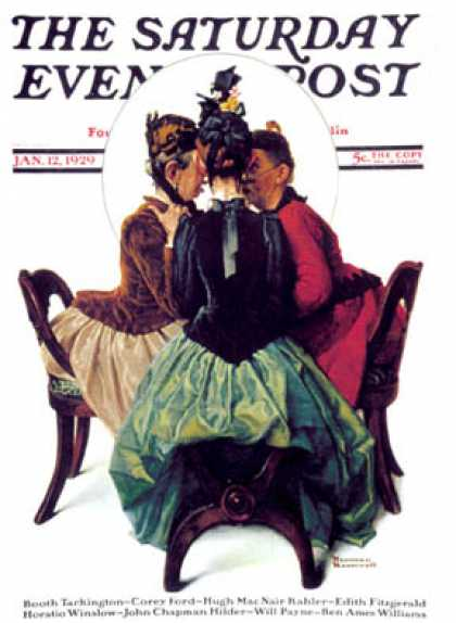 Saturday Evening Post - 1929-01-12 (Norman Rockwell)