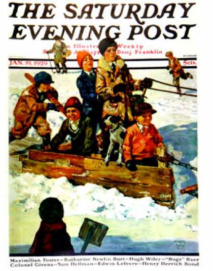 Saturday Evening Post - 1929-01-19