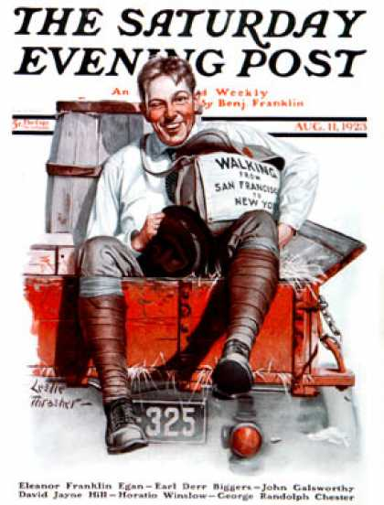 Saturday Evening Post - 1923-08-11
