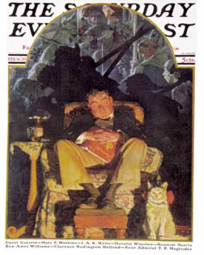 Saturday Evening Post - 1929-02-16 (Norman Rockwell)
