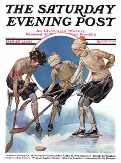 Saturday Evening Post - 1929-02-23