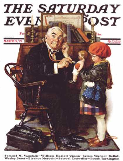 Saturday Evening Post - 1929-03-09 (Norman Rockwell)
