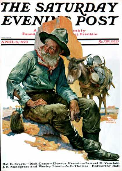 Saturday Evening Post - 1929-04-06
