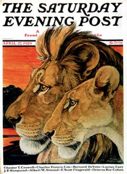 Saturday Evening Post - 1929-04-27