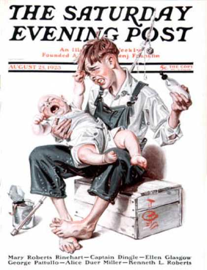 Saturday Evening Post - 1923-08-25
