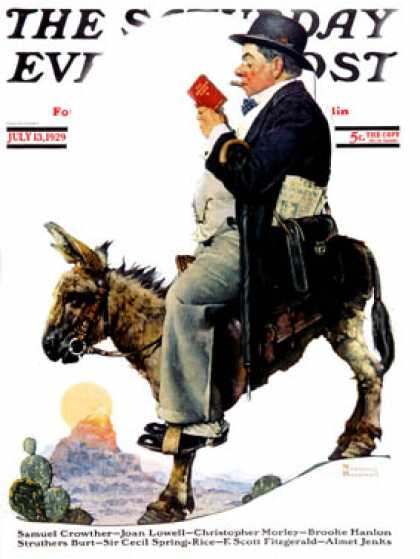 Saturday Evening Post - 1929-07-13 (Norman Rockwell)