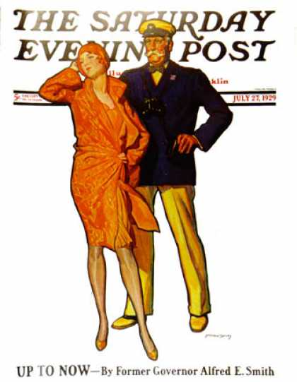 Saturday Evening Post - 1929-07-27