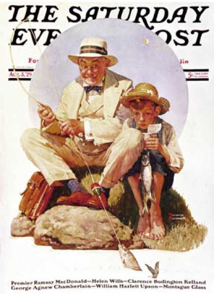 Saturday Evening Post - 1929-08-03 (Norman Rockwell)
