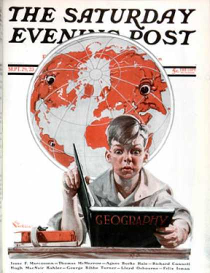 Saturday Evening Post - 1923-09-29