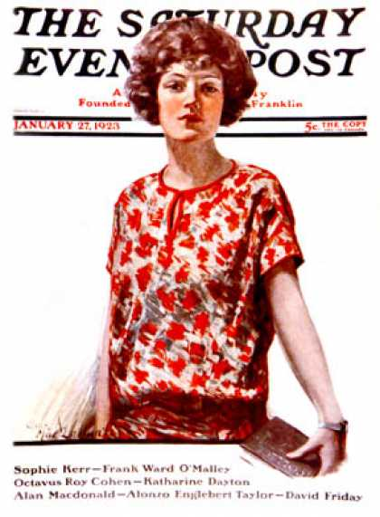 Saturday Evening Post - 1923-01-27