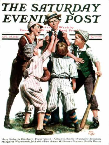 Saturday Evening Post - 1930-08-30: Arguing the Call (Alan Foster)