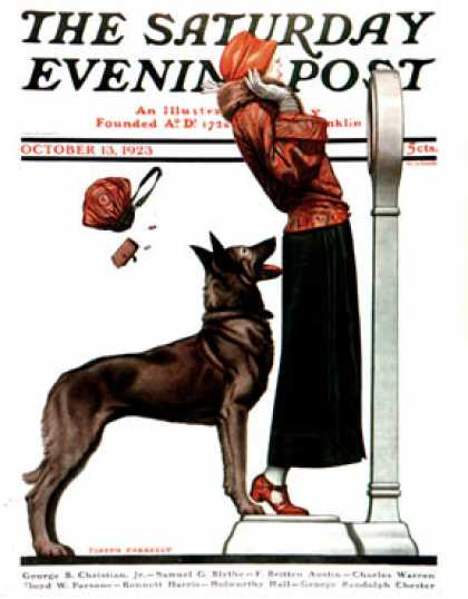 Saturday Evening Post - 1923-10-13