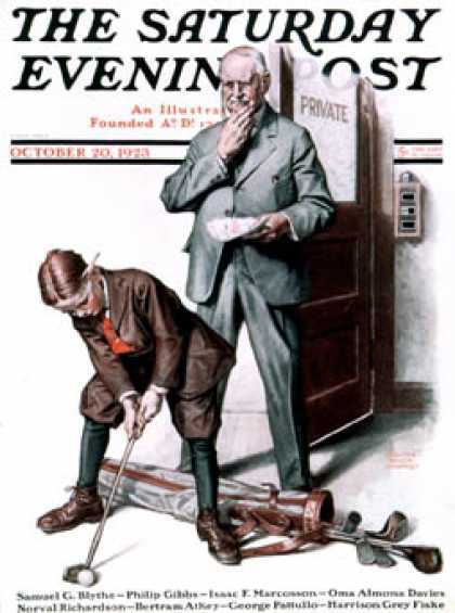 Saturday Evening Post - 1923-10-20
