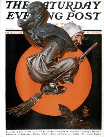 Saturday Evening Post - 1923-10-27