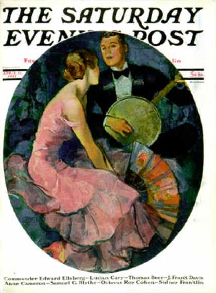 Saturday Evening Post - 1931-04-11: Banjo Serenade (John LaGatta)