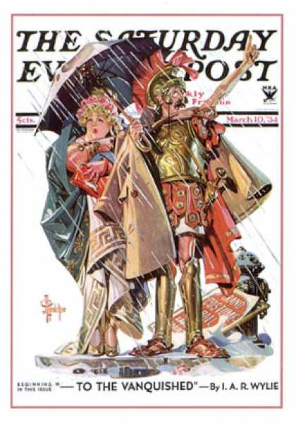 Saturday Evening Post - 1931-05-23: Queen of Spring (J.C. Leyendecker)