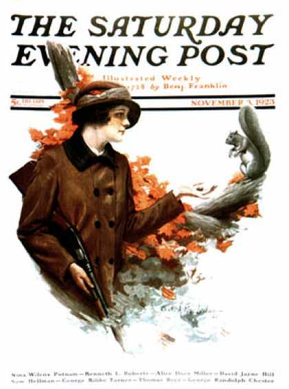 Saturday Evening Post - 1923-11-03
