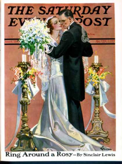 Saturday Evening Post - 1931-06-06: Bridal Couple Dancing (E. M. Jackson)