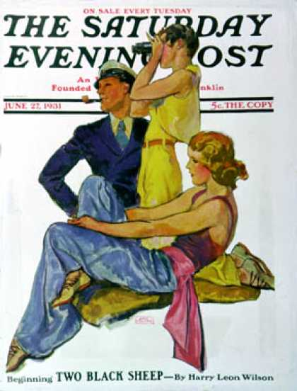 Saturday Evening Post - 1931-06-27: The Newport Set (John LaGatta)