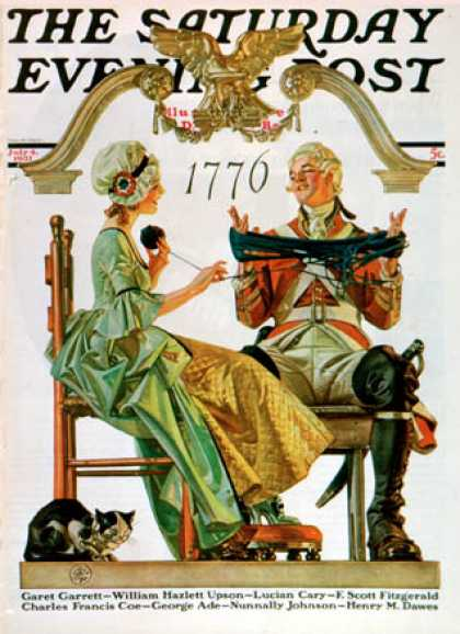 Saturday Evening Post - 1931-07-04: Truce (J.C. Leyendecker)