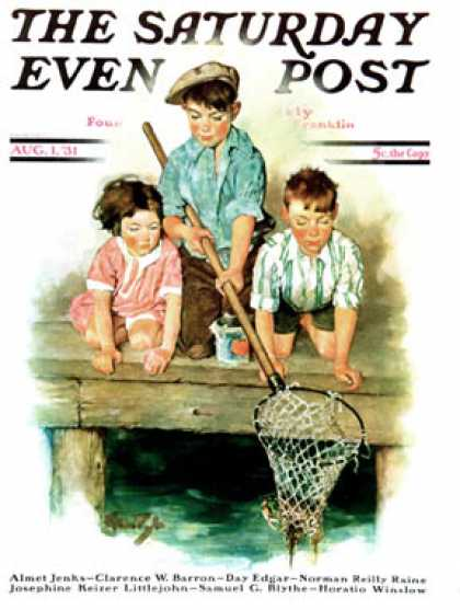 Saturday Evening Post - 1931-08-01: Crabbing (Ellen Pyle)