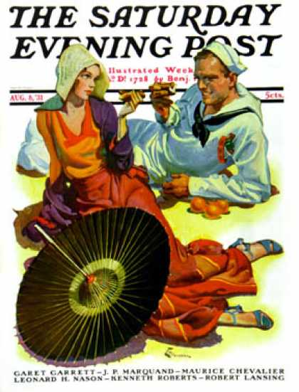 Saturday Evening Post - 1931-08-08: Shore Leave (E. M. Jackson)