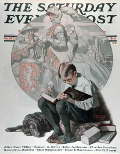 Saturday Evening Post - 1923-11-10 (Norman Rockwell)