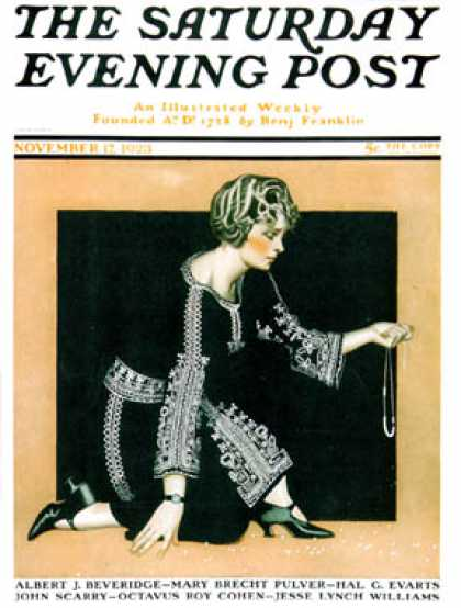 Saturday Evening Post - 1923-11-17
