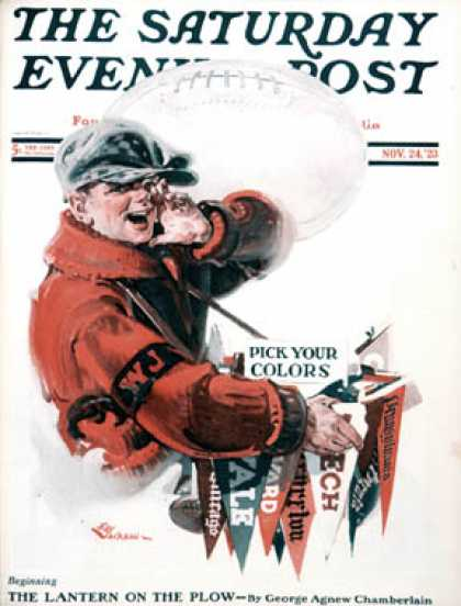 Saturday Evening Post - 1923-11-24