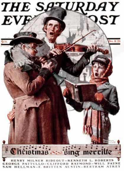 Saturday Evening Post - 1923-12-08 (Norman Rockwell)