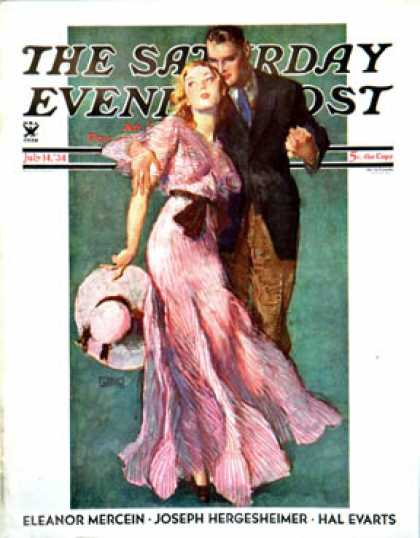 Saturday Evening Post - 1934-07-14: Out on a Date (John LaGatta)