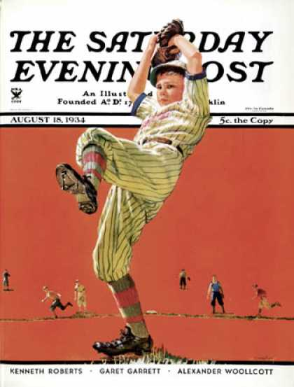 Saturday Evening Post - 1934-08-18: The Windup (Eugene Iverd)