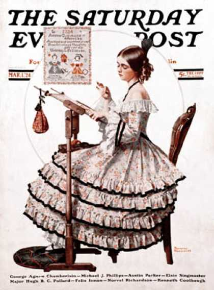 Saturday Evening Post - 1924-03-01 (Norman Rockwell)