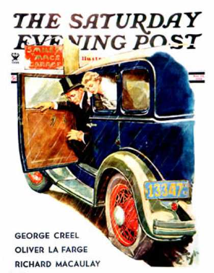 Saturday Evening Post - 1934-11-24: Flat Tire, Flat Evening (Ellen Pyle)