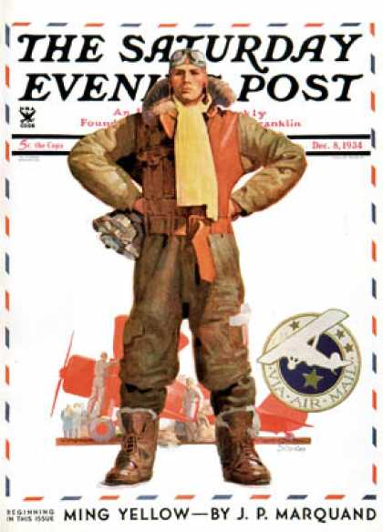 Saturday Evening Post - 1934-12-08: Airmail Pilot (John E. Sheridan)