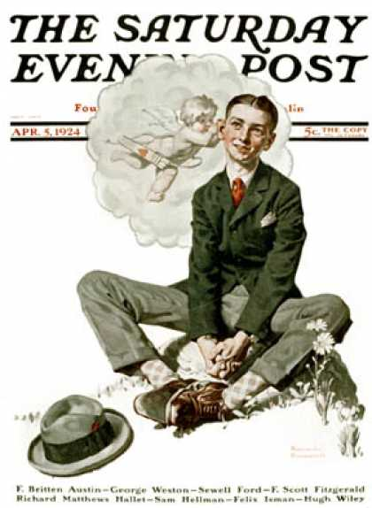 Saturday Evening Post - 1924-04-05 (Norman Rockwell)