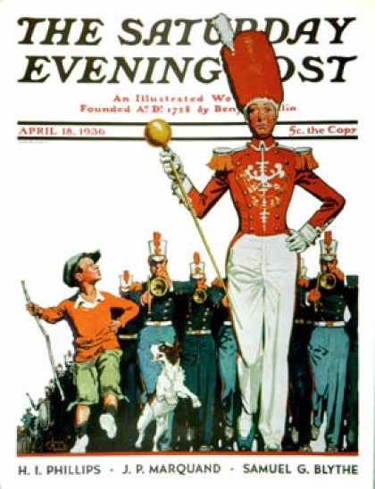 Saturday Evening Post - 1936-04-18: Joining the Parade (James C. McKell)