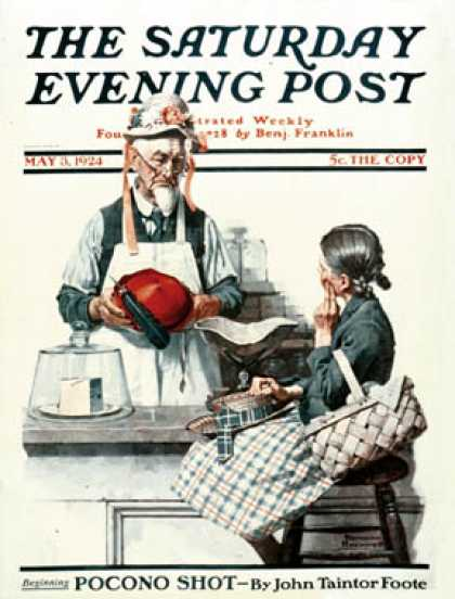 Saturday Evening Post - 1924-05-03 (Norman Rockwell)