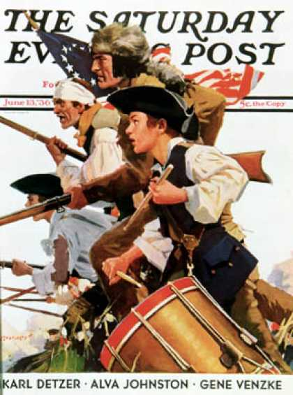 Saturday Evening Post - 1936-06-13: Minutemen (Maurice Bower)