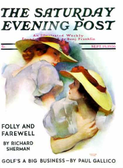Saturday Evening Post - 1936-09-19: Twin Outfits (Mortimer Hyman)