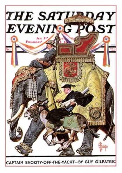 Saturday Evening Post - 1936-10-17: Political Party Symbols (J.C. Leyendecker)