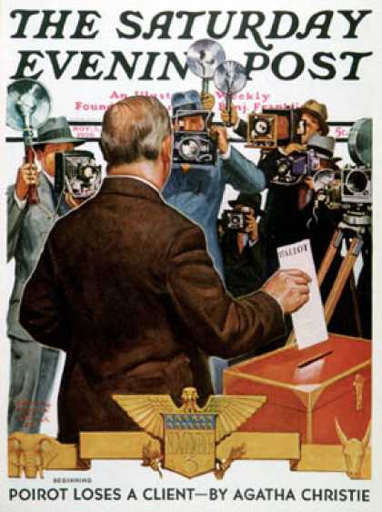 Saturday Evening Post - 1936-11-07: Candidate Voting (Edgar Franklin Wittmack)