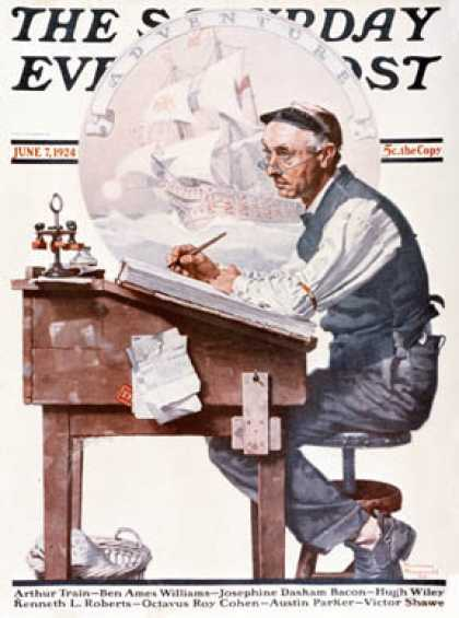 Saturday Evening Post - 1924-06-07 (Norman Rockwell)