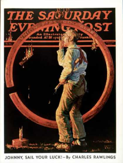 Saturday Evening Post - 1937-05-22: Sounding the Fire Alarm (Monte Crews)