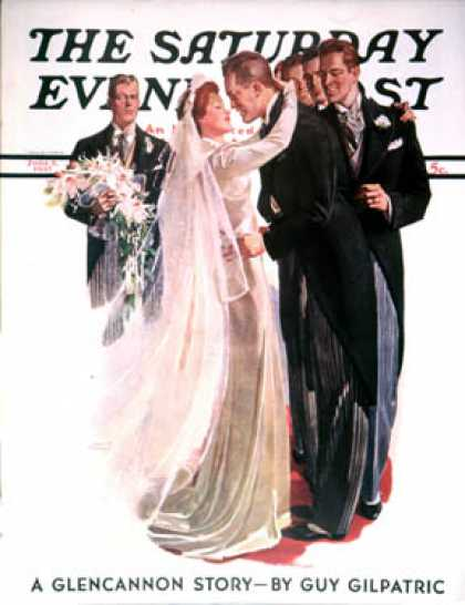 Saturday Evening Post - 1937-06-05: Kissing the Best man (Albert W. Hampson)