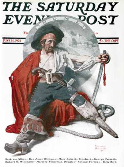 Saturday Evening Post - 1924-06-14 (Norman Rockwell)